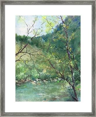 Sabino Canyon Framed Print