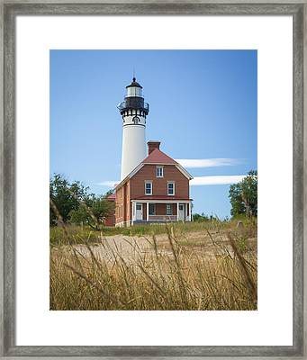 Sable Point Lighthouse Framed Print