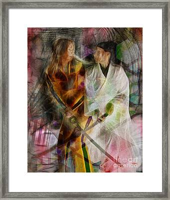 Sabre Dance Framed Print
