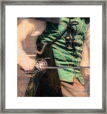 Sabre Rattling  Framed Print by Steven Digman