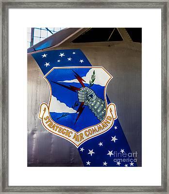 Strategic Air Command Framed Print