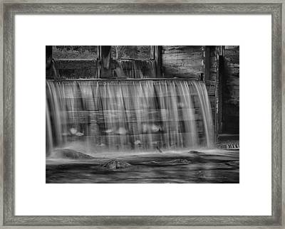 Saco River 6199 Framed Print