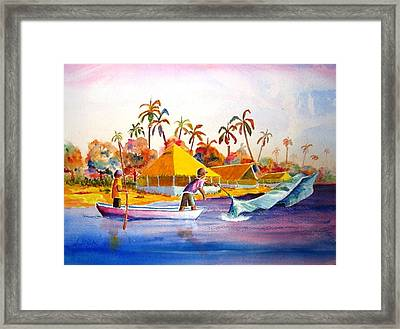 Sacraficio Framed Print by Buster Dight
