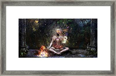 Sacrament For The Sacred Dreamers Framed Print by Cameron Gray