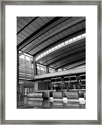 Sacramento Airport Framed Print