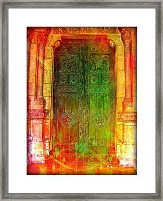 Sacratissimo Framed Print by Christine Paris