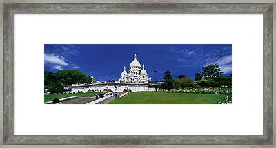 Sacre Coeur Cathedral Paris France Framed Print by Panoramic Images