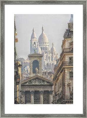 Sacre-coeur  Framed Print by Catherine Alfidi