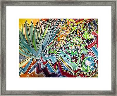 Sacred Agave Framed Print