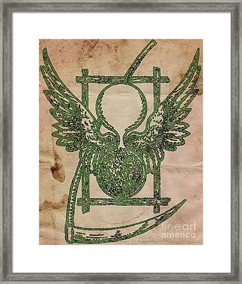 Sacred And Ancient Symbolism By Pb Framed Print