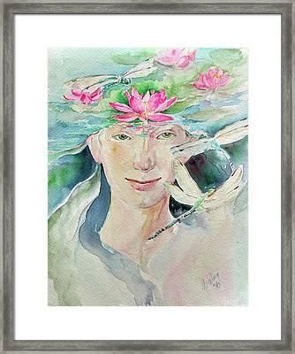 Sacred Awakening Framed Print