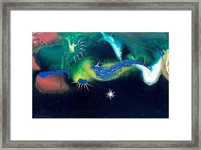 Sacred Dawn Framed Print by Lee Pantas