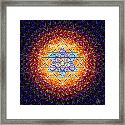 Sacred Geometry 141 Framed Print