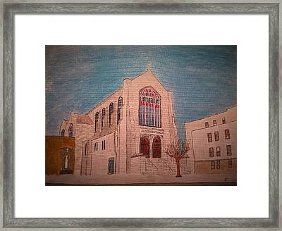 Sacred Heart Church Framed Print by John Cunnane