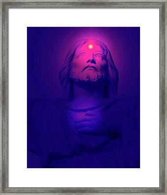 Sacred-heart No. 04 Framed Print by Ramon Labusch