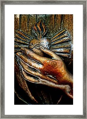 Sacred Heart Framed Print