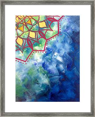 Sacred Mandala  Framed Print