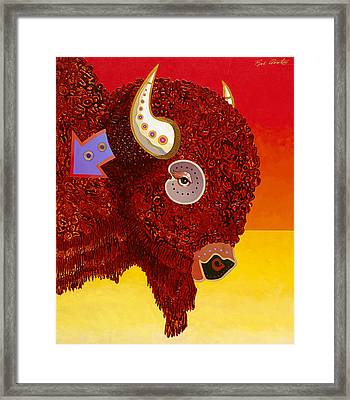 Sacred Monarch Framed Print by Bob Coonts