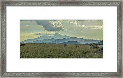 Sacred Mountain Framed Print