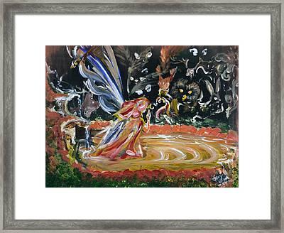 Sacred Pool 2 Framed Print
