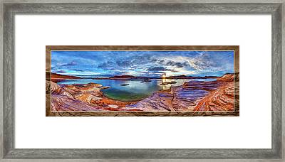 Framed Print featuring the photograph Sacred Rising by ABeautifulSky Photography