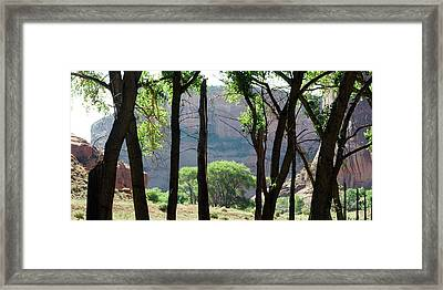 Sacred Space - Canyon De Chelly Framed Print