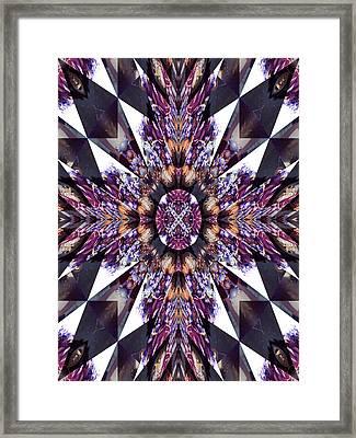 Sacred Star Framed Print by Ricky Kendall