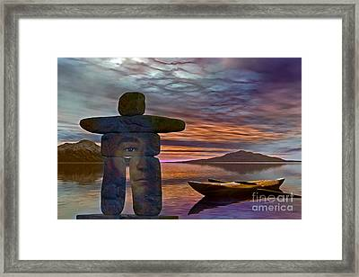 Sacred Stone  Framed Print by Shadowlea Is