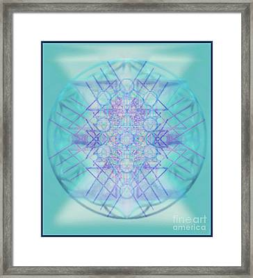 Sacred Symbols Out Of The Void A2b Framed Print by Christopher Pringer