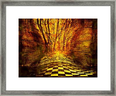 Sacred Temple Of The Trees Framed Print