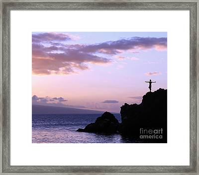 Sacred Tribute Framed Print