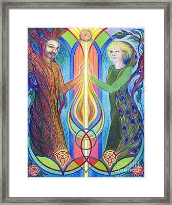 Sacred Union Framed Print