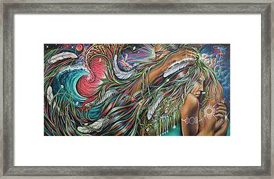 Sacred Union Framed Print by Robyn Chance