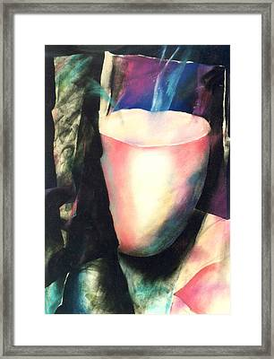 Sacred Vessel I Framed Print by Sue Reed