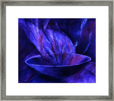 Sacred Vessel II Framed Print by Sue Reed