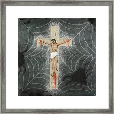 Sacrifice D'amour Framed Print by Arnuda