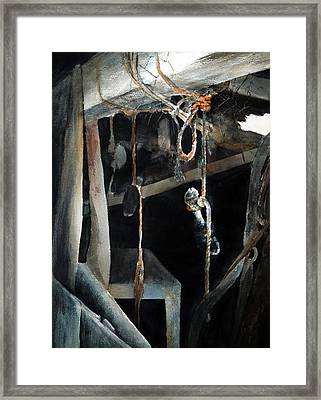 Sacrifice Framed Print by Rachel Christine Nowicki