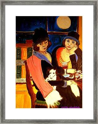 Sad Cafe Framed Print