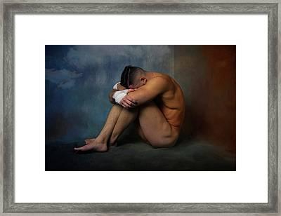 Sad Look  Framed Print by Mark Ashkenazi