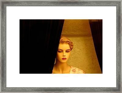 Sad Lucy Framed Print by Jez C Self