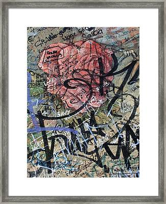 Sad Rose ... Framed Print by Juergen Weiss