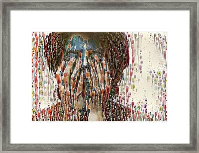 Sad Woman 2 Framed Print by Amy Cicconi