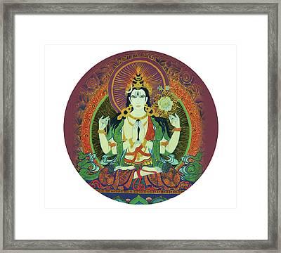 Sada Shiva  Framed Print