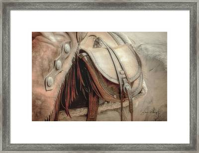 Saddle Bag Framed Print