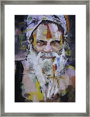 Sadhu Framed Print