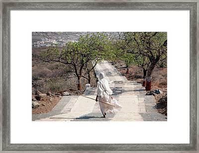Sadhvi Framed Print