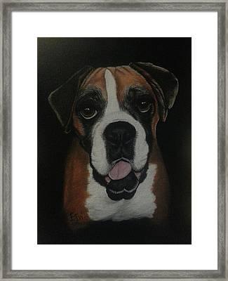 Sadie Framed Print by Elizabeth Waitinas