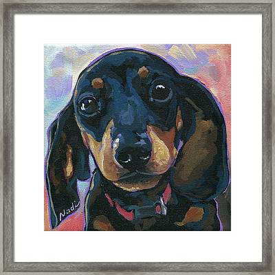 Sadie Framed Print by Nadi Spencer