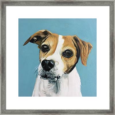 Sadie Framed Print by Nathan Rhoads