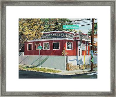 Sadlacks Restaurant Framed Print